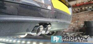 Vw Polo Gti Exhaust Proflow Exhausts Stainless Steel Custom Back Box And Twin Tailpipe For Polo GTi (7)