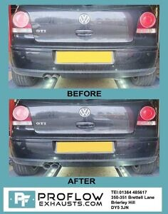 Vw Polo Gti Exhaust Before And After 10