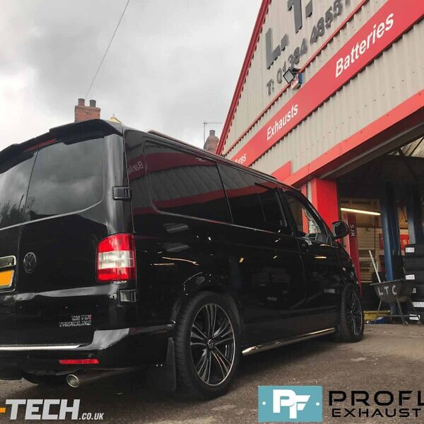 BLACK FRIDAY SALE VW Transporter T5 T5.1 Custom Built Exhaust