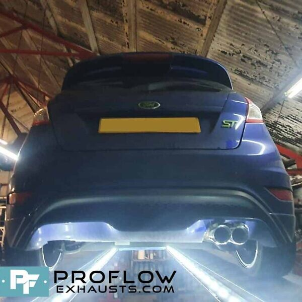 Proflow Exhausts Stainless Steel Back Box and TX083 Tailpipe for Ford Fiesta ST MK 7.5