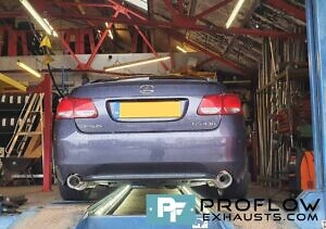 Proflow Exhausts Stainless Steel Back Boxes Dual Exit For Lexus GS430 (1)