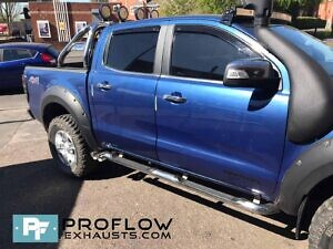 Ford Ranger Custom Exhaust Middle Dual Exit With TX84 B Tailpipes Made From Stainless Steel (4)