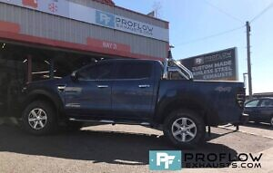 Ford Ranger Custom Exhaust Middle Dual Exit With TX84 B Tailpipes Made From Stainless Steel (8)