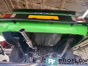 Proflow Custom Built Stainless Steel Exhaust For Ford Escort Mark 2 (4)