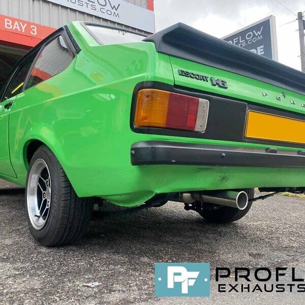Proflow Custom Built Stainless Steel Exhaust For Ford Escort Mark 2 (6)
