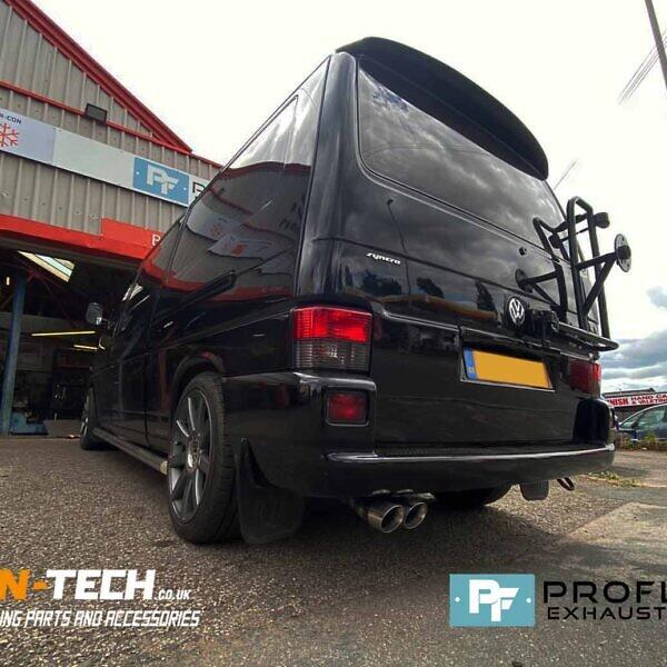 Proflow Custom Built Exhaust For VW Transporter T4 Syncro 4 Wheel Drive Model (4)