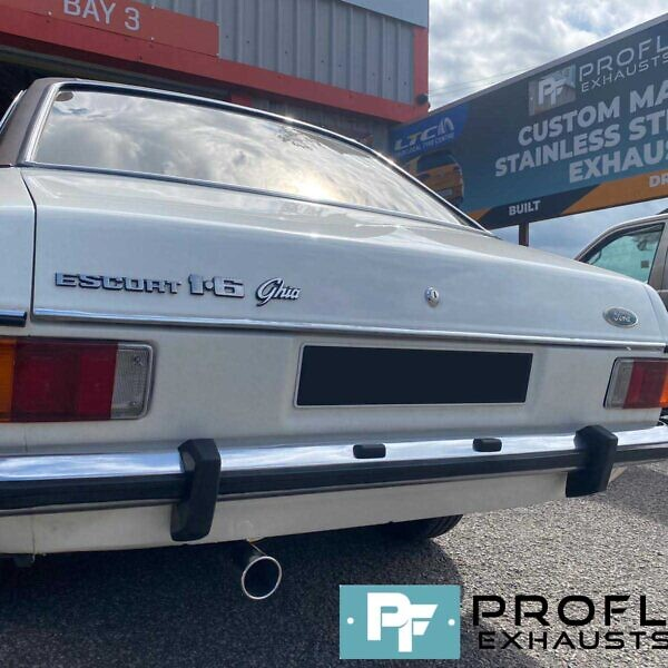 Proflow Ford Escort Mark 2 Custom Built Exhaust Made From Stainless Steel (6)